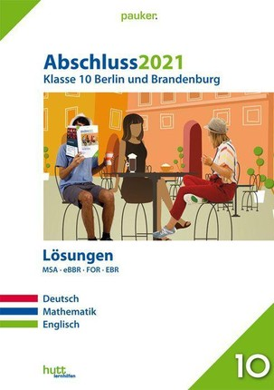 Abschluss 2021 - Klasse 10 Berlin und Brandenburg Lösungen