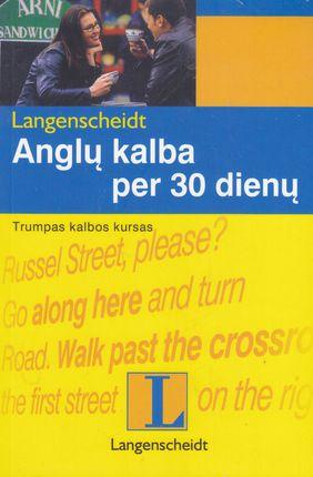 Anglų kalba per 30 dienų: su CD