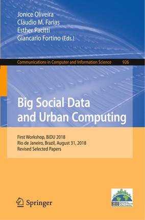 Big Social Data and Urban Computing