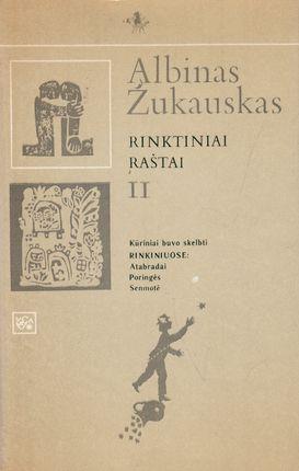 Albinas Žukauskas. Rinktiniai raštai II tomas