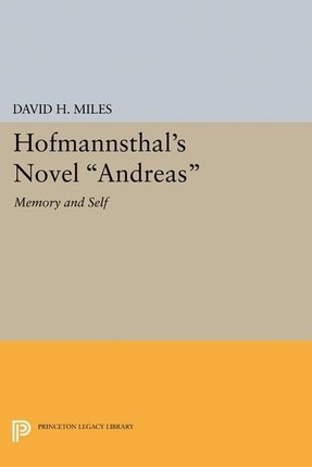Hofmannsthal's Novel &quote;Andreas&quote;