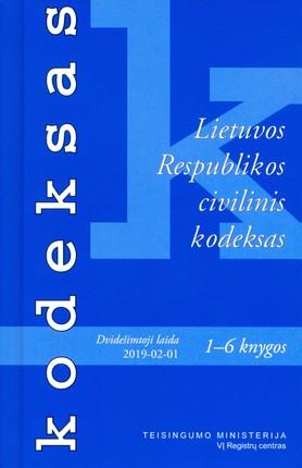 Lietuvos Respublikos civilinis kodeksas (2019 m. vasario 1 d.)