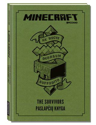 Minecraft. The Survivors paslapčių knyga