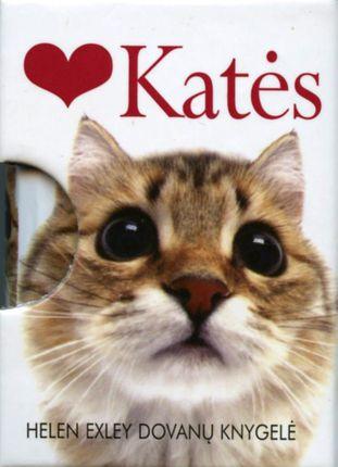 Katės. Mini knygelė