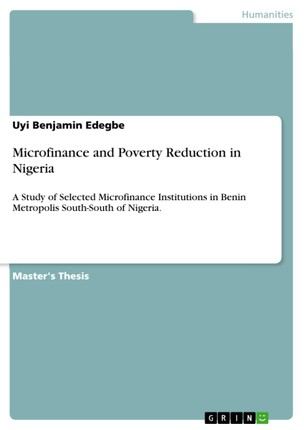 Microfinance and Poverty Reduction in Nigeria