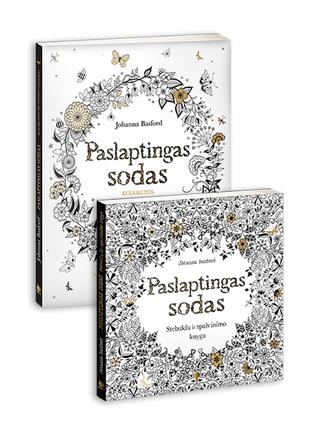 PASLAPTINGAS SODAS: kolekcinis leidimas + Stebuklų ir spalvinimo – parduota daugiau nei 1,6 mln. egzempliorių!