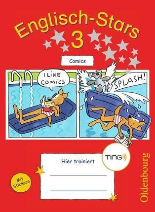 Englisch-Stars 3. Schuljahr. Comics. TING-Ausgabe