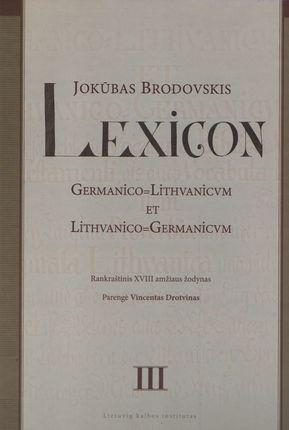 Lexicon III tomas