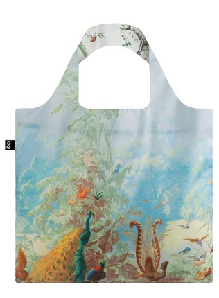 "LOQI dvipusis pirkinių krepšys ""Brazil & Chinese Decor Duo Bag"""
