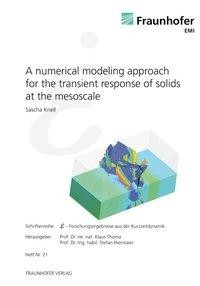 A numerical modeling approach for the transient response of solids at the mesoscale