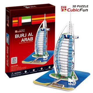 3D dėlionė: Burj al-Arab