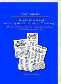 """Owned and Conducted entirely by the Native Christian Community"""