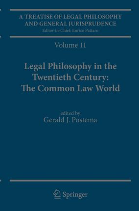 A Treatise of Legal Philosophy and General Jurisprudence Volume 11