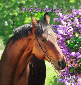 """2014 metų kalendorius """"Arklio metai"""""""