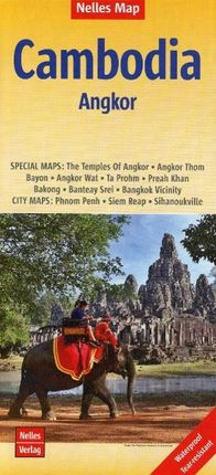 Nelles Map Cambodia - Angkor 1 : 1 500 000