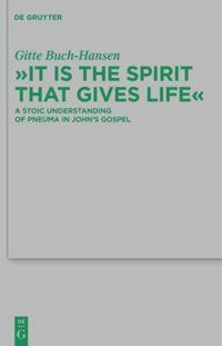 """It is the Spirit that Gives Life"""