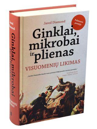 GINKLAI, MIKROBAI IR PLIENAS: VISUOMENIŲ LIKIMAS. Vienas svarbiausių šiuolaikinės pasaulio istorijos veikalų, atskleidžiantis skirtingo visuomenių išsivystymo priežastis ir tai, ko galime išmokti iš praeities