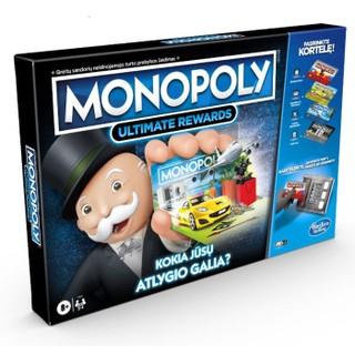 """Stalo žaidimas """"Monopoly super elektroninė bankininkystė"""""""