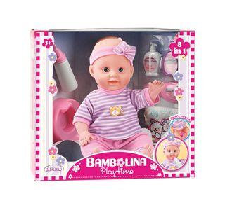 BAMBOLINA lėlė su aksesuarais (36 cm) 8in1, 1404
