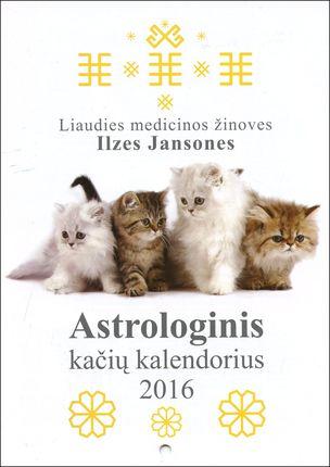 2016 metų astrologinis kačių kalendorius