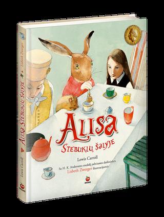 ALISA STEBUKLŲ ŠALYJE: kolekcinis leidimas - pirmą kartą lietuviškai su HK.Anderseno medalį pelniusiomis Lisbeth Zwerger iliustracijomis ir nauju, papildytu Liudos Petkevičiūtės vertimu