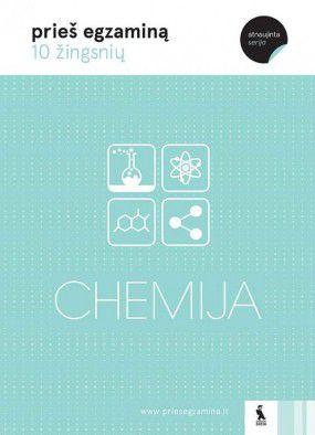 Chemija: 10 žingsnių prieš egzaminą