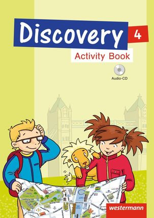 Discovery 3 - 4. Activity Book 4 mit CD