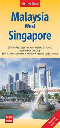 Nelles Map Malaysia: West, Singapore 1 : 1 500 000 /  1 : 15 000