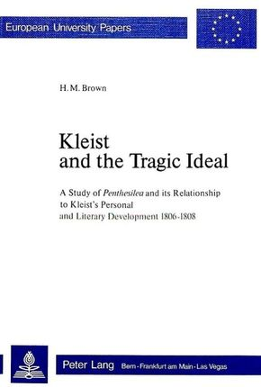 Kleist and the Tragic Idea