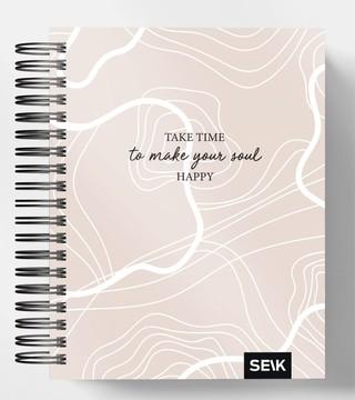 HAPPY CALENDAR PLANUOKLIS SU SPIRALE TAKE TIME 21/22 (16 MĖN., LIET.K.)