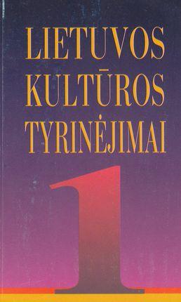 Lietuvos kultūros tyrinėjimai 1