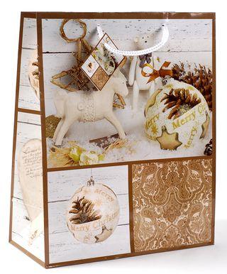 Kalėdinis dovanų maišelis (arkliukas)