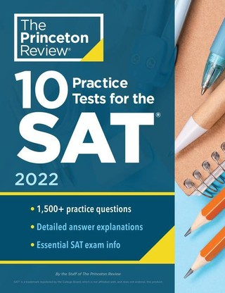 10 Practice Tests for the SAT, Edition 2022