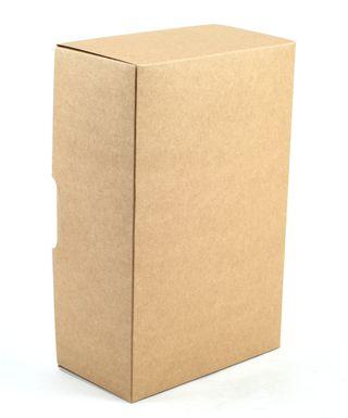 Dėžutė knygoms (ruda, 22 x 14,5 x 8 cm)