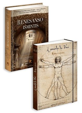 Renesanso mintys šiuolaikiniam žmogui! RENESANSO IŠMINTIS: pirmą kartą lietuviškai vienoje knygoje + LEONARDO DA VINCI: mintys ir užrašai