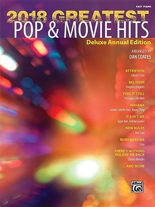 2018 Greatest Pop & Movie Hits: Deluxe Annual Edition