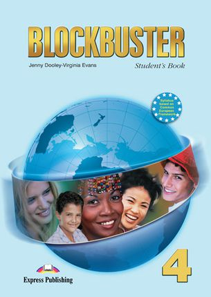 Blockbuster 4. Student's book. Anglų kalbos vadovėlis