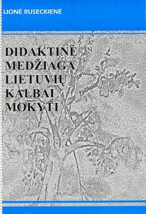 Didaktinė medžiaga lietuvių kalbai mokyti