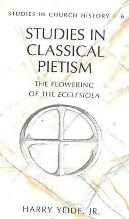 Studies in Classical Pietism