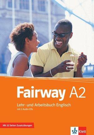 Fairway 2. Lehr- und Arbeitsbuch mit Zusatzmaterial und 2 Audio-CDs A2