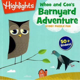 Whoo and Coo's Barnyard Adventure. Story puzzle fun