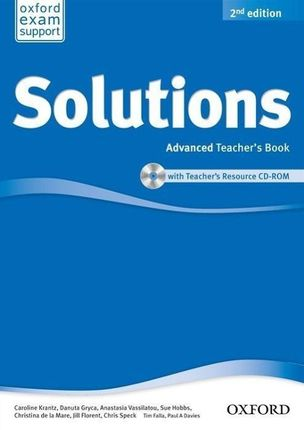 Solutions: Advanced. Teacher's Book and CD-ROM Pack