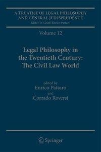 A Treatise of Legal Philosophy and General Jurisprudence: Volume 12 Legal Philosophy in the Twentieth Century: The Civil Law World, Tome 1: Language A