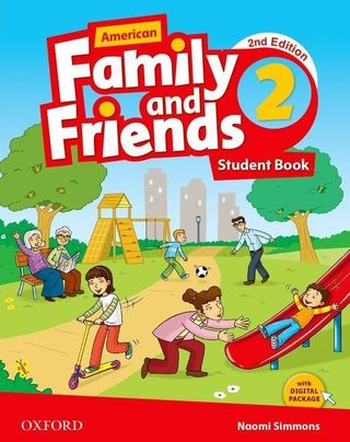 American Family and Friends 2. Student Book