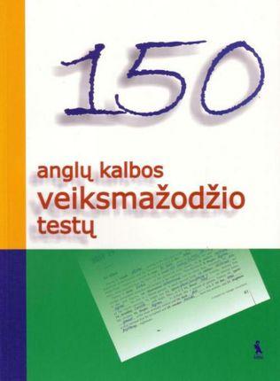 150 anglų kalbos veiksmažodžio testų