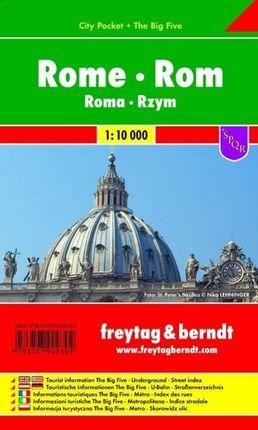 Rom, City Pocket, Stadtplan 1:10.000