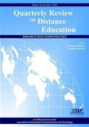 Quarterly Review of Distance Education - Journal Issue