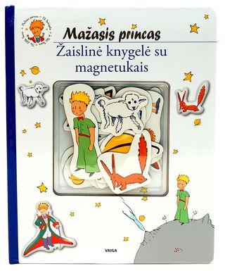 Mažasis princas. Žaislinė knygelė su magnetukais