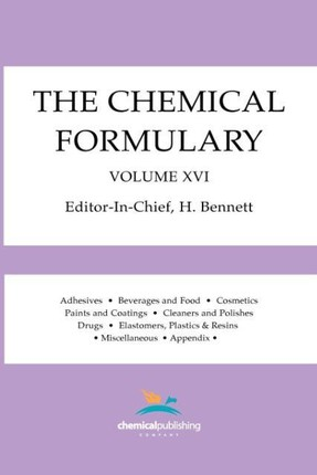 The Chemical Formulary, Volume 16