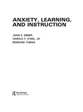 Anxiety, Learning, and Instruction